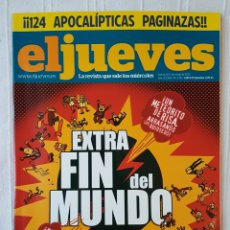 Coleccionismo de Revista El Jueves: REVISTA EL JUEVES N. 1716 AÑO 2010 EXTRA ESPECIAL FIN DEL MUNDO. Lote 106124650