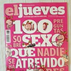 Coleccionismo de Revista El Jueves: REVISTA EL JUEVES N. 1676 AÑO 2009. Lote 106636876
