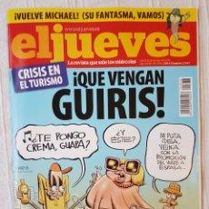 Coleccionismo de Revista El Jueves: REVISTA EL JUEVES N. 1678 AÑO 2009. Lote 106636900