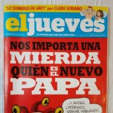 Coleccionismo de Revista El Jueves: REVISTA EL JUEVES N. 1869 AÑO 2013. Lote 106637414