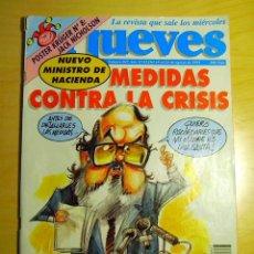 Coleccionismo de Revista El Jueves: EL JUEVES, N.º 847, AGOSTO 1993: MEDIDAS CONTRA LA CRISIS. Lote 107148295