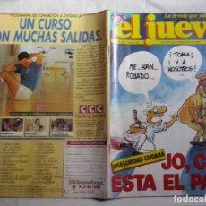 Coleccionismo de Revista El Jueves: REVISTA EL JUEVES Nº 562. AÑO 1988. JO, COMO ESTA EL PATIO! (ABLN). Lote 108025883
