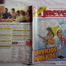Coleccionismo de Revista El Jueves: REVISTA EL JUEVES Nº 593. AÑO 1988 (ABLN). Lote 108025963