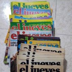 Coleccionismo de Revista El Jueves: REVISTAS DE EL JUEVES DESDE EL NÚMERO 1. Lote 108445032