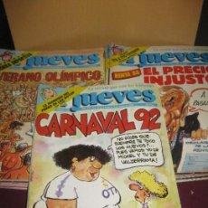 Coleccionismo de Revista El Jueves: LOTE DE 25 REVISTAS EL JUEVES DEL AÑO 1988 A 1992.EN BUEN ESTADO.. Lote 108873363