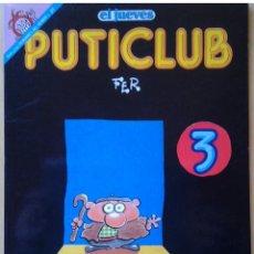Coleccionismo de Revista El Jueves: EL JUEVES PENDONES DEL HUMOR PUTICLUB 3 PENDONES DEL HUMOR 91 FER 1992. Lote 109449983