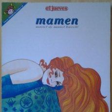 Coleccionismo de Revista El Jueves: PENDONES DEL HUMOR 126, MAMEN, MARIEL& MANEL BARCELÓ, AÑO 1995. Lote 109494055