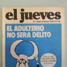 Coleccionismo de Revista El Jueves: REVISTA EL JUEVES NUMERO 6, AÑO 1977.. Lote 109503559