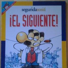 Coleccionismo de Revista El Jueves: PENDONES DEL HUMOR 142, SEGURIDA SOSIÁ, MAIKEL, OZELUI, EL SIGUIENTE, AÑO 1998. Lote 109519175