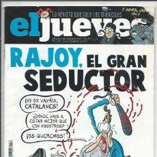 Coleccionismo de Revista El Jueves: EL JUEVES N° 2106 -AÑO 2017 - SEGUNDA MANO. Lote 109530675
