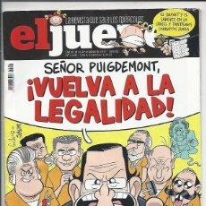 Coleccionismo de Revista El Jueves: EL JUEVES N° 2108 -AÑO 2017 - SEGUNDA MANO. Lote 109531223