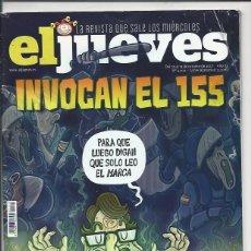 Coleccionismo de Revista El Jueves: EL JUEVES N° 2109 -AÑO 2017 - SEGUNDA MANO. Lote 109531327
