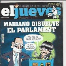 Coleccionismo de Revista El Jueves: EL JUEVES N° 2110 -AÑO 2017 - SEGUNDA MANO. Lote 109532051
