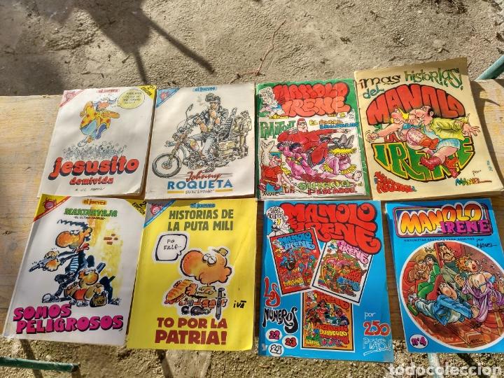 Coleccionismo de Revista El Jueves: Lote diverso El Jueves, la codorniz, Papus etc.. - Foto 4 - 110035090