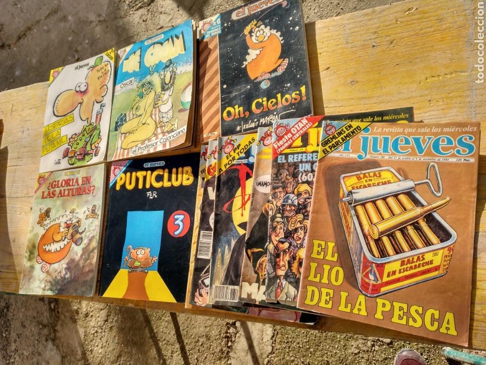 Coleccionismo de Revista El Jueves: Lote diverso El Jueves, la codorniz, Papus etc.. - Foto 3 - 110035090