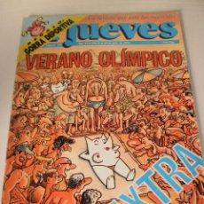 Coleccionismo de Revista El Jueves: EL JUEVES Nº 789 EXTRA VERANO OLÍMPICO . DEL 8 AL 14 DE JULIO DE 1992.CON PÓSTER BARSEXLONA 92. Lote 110804887
