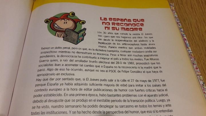 Coleccionismo de Revista El Jueves: EL JUEVES DE CABO A RABO / 1977-2007 / EDICIÓN COLECCIONISTA / 30 ANIV / BUENA CALIDAD. - Foto 2 - 111094375