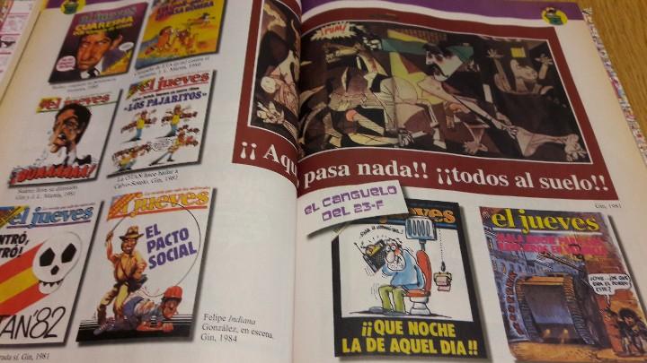 Coleccionismo de Revista El Jueves: EL JUEVES DE CABO A RABO / 1977-2007 / EDICIÓN COLECCIONISTA / 30 ANIV / BUENA CALIDAD. - Foto 4 - 111094375
