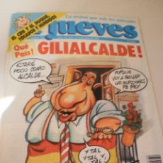 Coleccionismo de Revista El Jueves: EL JUEVES Nº 732 DEL 5 AL 11 DE JUNIO DE 1991. Lote 111147571