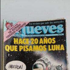 Coleccionismo de Revista El Jueves: LOTE DE 13 REVISTAS EL JUEVES. AÑOS 1989, 1990 Y 1991. Lote 112396191
