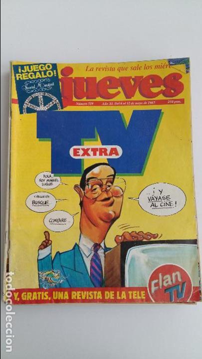 LOTE DE 9 REVISTAS EL JUEVES. LEER DESCRIPCION (Coleccionismo - Revistas y Periódicos Modernos (a partir de 1.940) - Revista El Jueves)