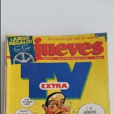 Coleccionismo de Revista El Jueves: LOTE DE 9 REVISTAS EL JUEVES. LEER DESCRIPCION. Lote 112492143