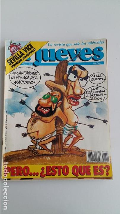 Coleccionismo de Revista El Jueves: LOTE DE 9 REVISTAS EL JUEVES. LEER DESCRIPCION - Foto 2 - 112492143
