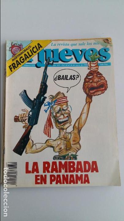 Coleccionismo de Revista El Jueves: LOTE DE 9 REVISTAS EL JUEVES. LEER DESCRIPCION - Foto 4 - 112492143