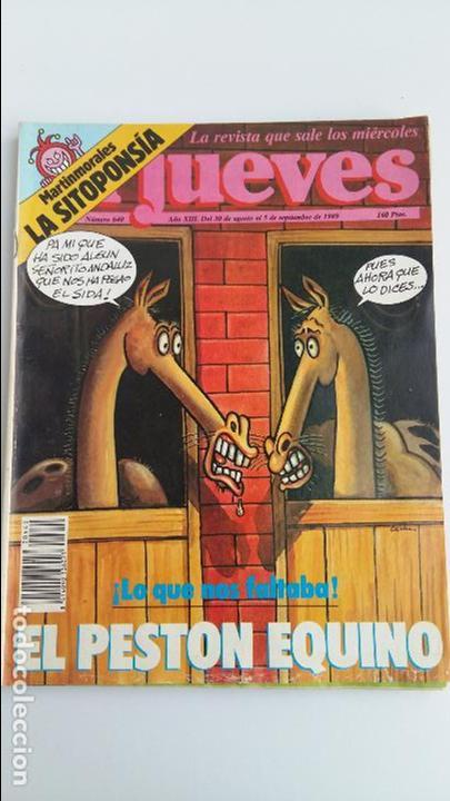 Coleccionismo de Revista El Jueves: LOTE DE 9 REVISTAS EL JUEVES. LEER DESCRIPCION - Foto 7 - 112492143