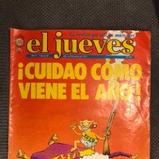Coleccionismo de Revista El Jueves: EL JUEVES. AÑO II . ! CUIDADO COMO VIENE EL AÑO !NUMERO 84. (A.1979). Lote 113323127