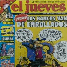 Coleccionismo de Revista El Jueves: EL JUEVES 1562 (2007). Lote 113630104