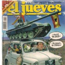 Coleccionismo de Revista El Jueves: EL JUEVES. Nº 1406. 11 MAYO 2004. (P/B71). Lote 114776899