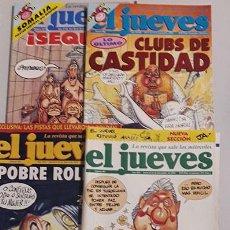 Coleccionismo de Revista El Jueves: LOTE DE 35 REVISTAS EL JUEVES.. Lote 114841223