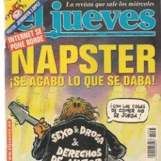 Coleccionismo de Revista El Jueves: EL JUEVES. Nº 1243. . 27 MARZO 2001. (P/B71). Lote 114887235