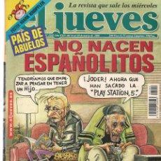 Coleccionismo de Revista El Jueves: EL JUEVES. Nº 1242. . 20 MARZO 2001. (P/B71). Lote 114887303