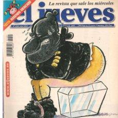 Coleccionismo de Revista El Jueves: EL JUEVES. Nº 1241. . 13 MARZO 2001. (P/B71). Lote 114887379