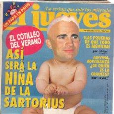 Coleccionismo de Revista El Jueves: EL JUEVES. Nº 1058. . 9 SEPTIEMBRE 1997. (P/B71). Lote 114892031
