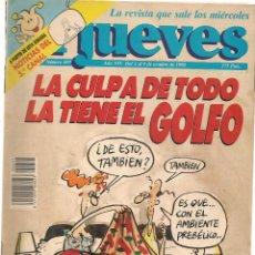 Coleccionismo de Revista El Jueves: EL JUEVES. Nº 697. . 9 OCTUBRE 1990. (P/B71). Lote 114892275
