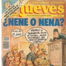 Coleccionismo de Revista El Jueves: EL JUEVES. Nº 695. . 27 SEPTIEMBRE 1990. (P/B71). Lote 114892387