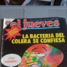 Coleccionismo de Revista El Jueves: EL JUEVES - NUMERO 119 - 1979 - LA BACTERIA DEL CÓLERA SE CONFIESA - CON PÓSTER CENTRAL. Lote 115177379