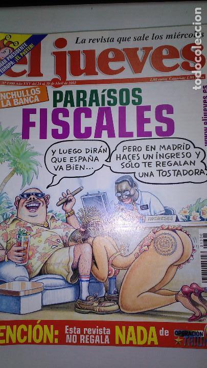 Coleccionismo de Revista El Jueves: REVISTA EL JUEVES. Lote de 99 Nº (Agosto 1991/ Marzo 2013) - Foto 4 - 116444099