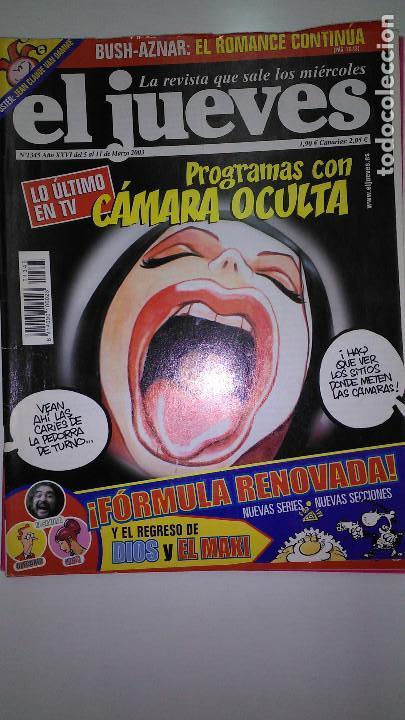 Coleccionismo de Revista El Jueves: REVISTA EL JUEVES. Lote de 99 Nº (Agosto 1991/ Marzo 2013) - Foto 6 - 116444099