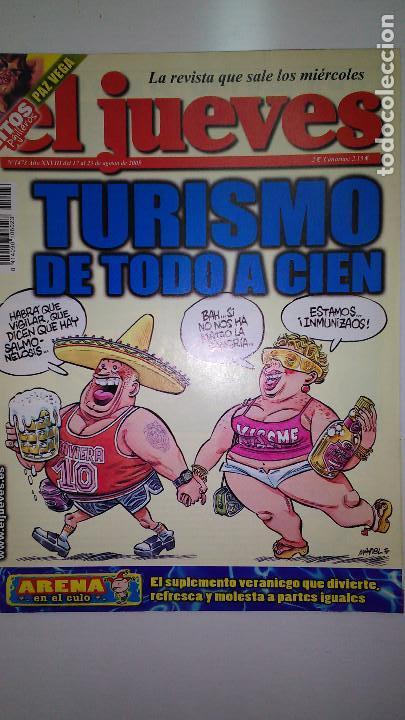 Coleccionismo de Revista El Jueves: REVISTA EL JUEVES. Lote de 99 Nº (Agosto 1991/ Marzo 2013) - Foto 8 - 116444099