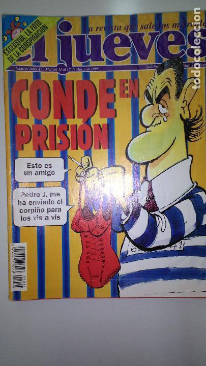Coleccionismo de Revista El Jueves: REVISTA EL JUEVES. Lote de 99 Nº (Agosto 1991/ Marzo 2013) - Foto 11 - 116444099