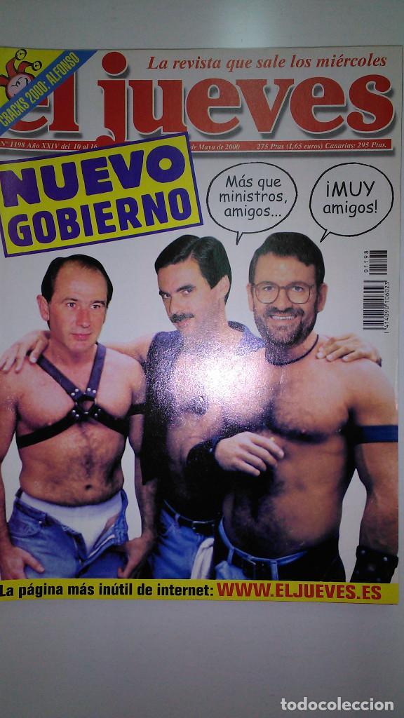 Coleccionismo de Revista El Jueves: REVISTA EL JUEVES. Lote de 99 Nº (Agosto 1991/ Marzo 2013) - Foto 12 - 116444099