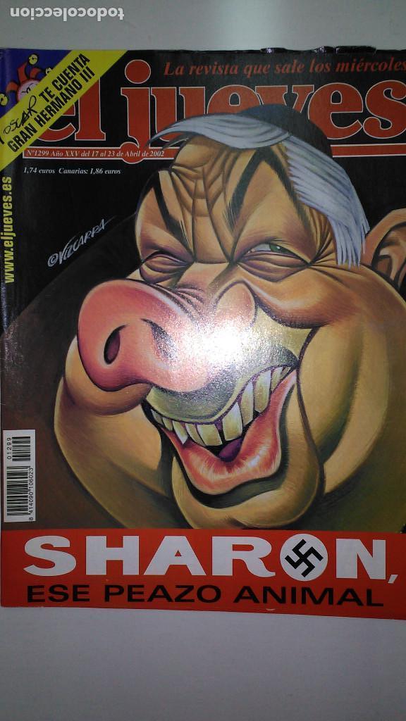 Coleccionismo de Revista El Jueves: REVISTA EL JUEVES. Lote de 99 Nº (Agosto 1991/ Marzo 2013) - Foto 13 - 116444099