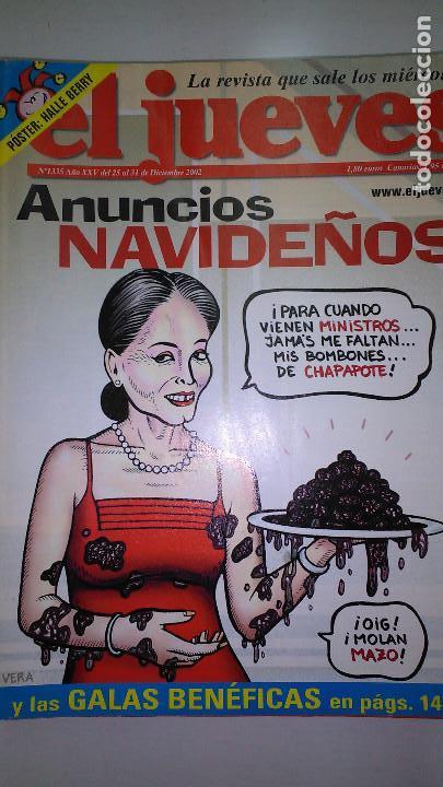Coleccionismo de Revista El Jueves: REVISTA EL JUEVES. Lote de 99 Nº (Agosto 1991/ Marzo 2013) - Foto 14 - 116444099