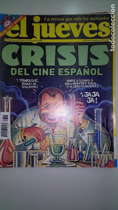 Coleccionismo de Revista El Jueves: REVISTA EL JUEVES. Lote de 99 Nº (Agosto 1991/ Marzo 2013) - Foto 15 - 116444099