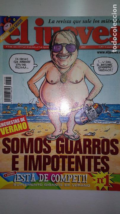 Coleccionismo de Revista El Jueves: REVISTA EL JUEVES. Lote de 99 Nº (Agosto 1991/ Marzo 2013) - Foto 17 - 116444099
