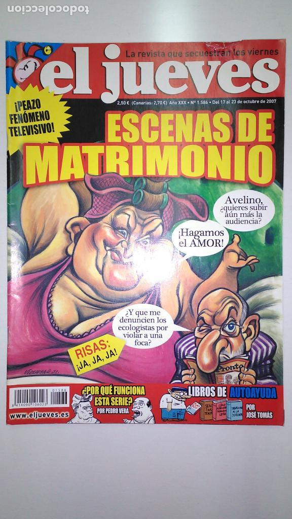 Coleccionismo de Revista El Jueves: REVISTA EL JUEVES. Lote de 99 Nº (Agosto 1991/ Marzo 2013) - Foto 19 - 116444099